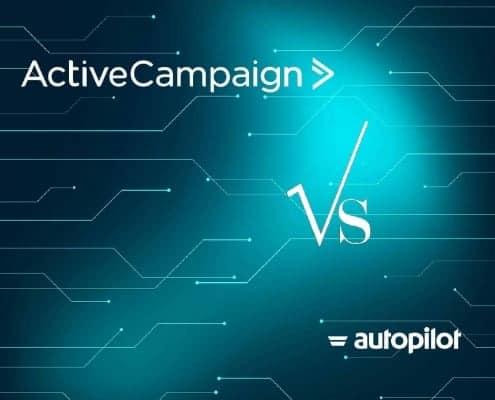 ActiveCapaign vs Autopilot visual