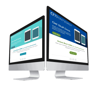 A/B test op desktop dubbel beeldscherm