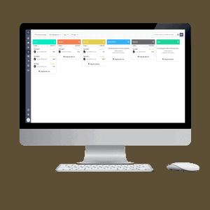 Nieuwsbrief editor op desktop