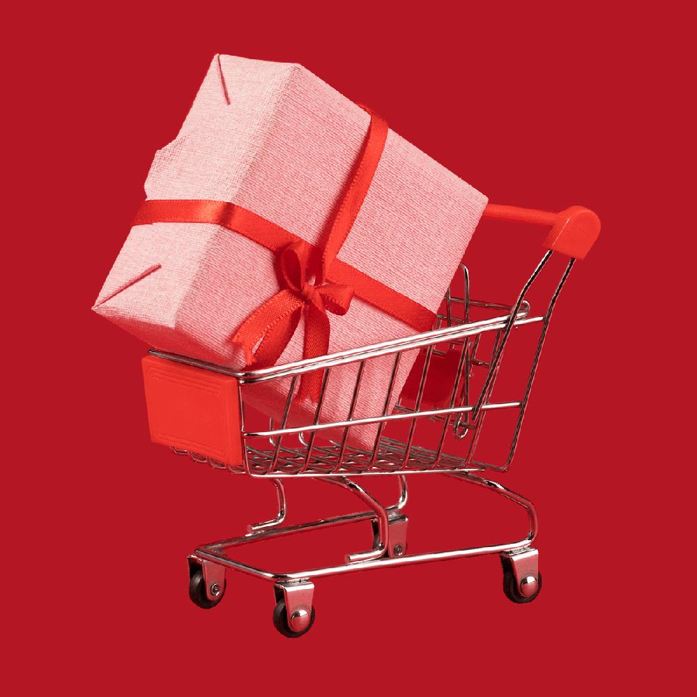 Shopping cart cadeau